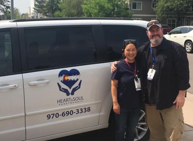 Jungmi Brabson and her husband, Jason, founded Heart and Soul Paratransit.