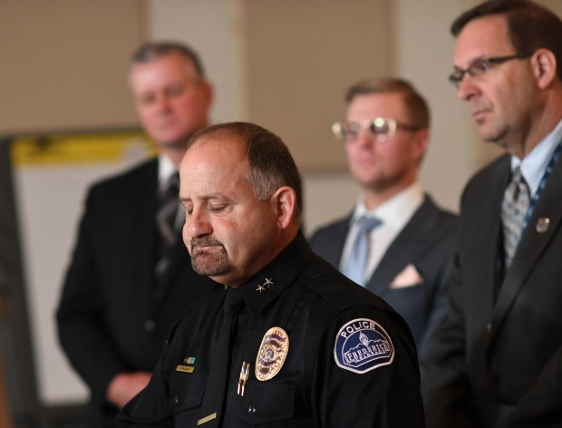 Frederick Police Department Chief Todd Norris ...