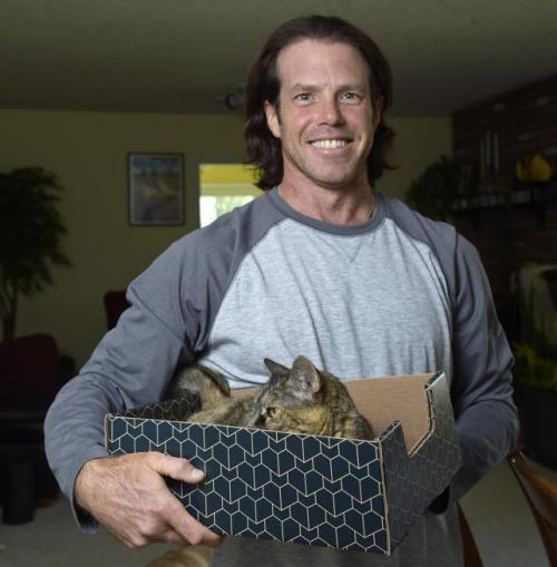 Man Wants to Sell Cardboard Boxes to Cat Owners