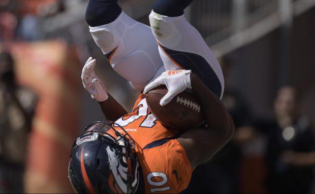 Denver Broncos wide receiver Emmanuel Sanders ...