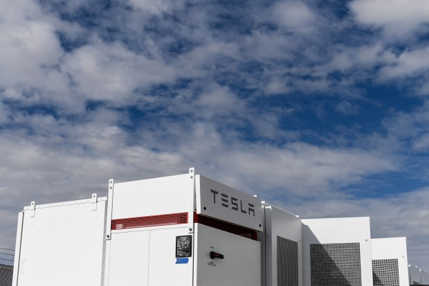 United Power is installing Tesla batteries ...