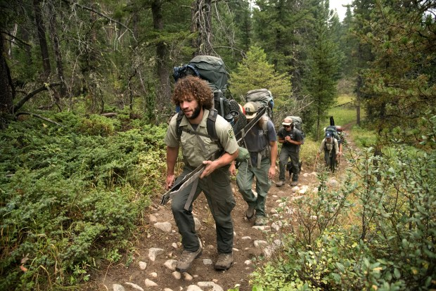 Joshua Kinsel, a trail lead for ...