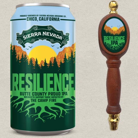 Resilience Butte County Proud IPA for CA wildfire victims in