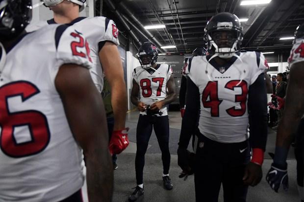 "Ex-Broncos WR Demaryius Thomas on his Texans debut: ""It was tough, man"""