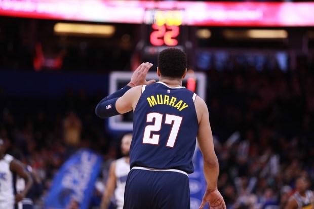 Jamal Murray #27 of the Denver ...