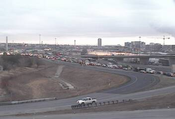 A Colorado Department of Transportation camera view of U.S. 6 at I-25 on Dec. 3, 2018, at 7:25 a.m.