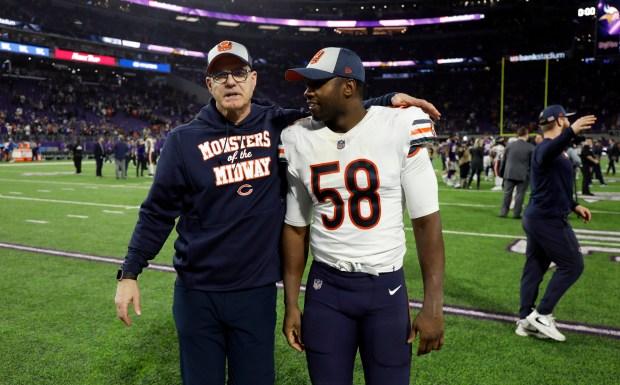 Chicago Bears defensive backs coach Ed ...