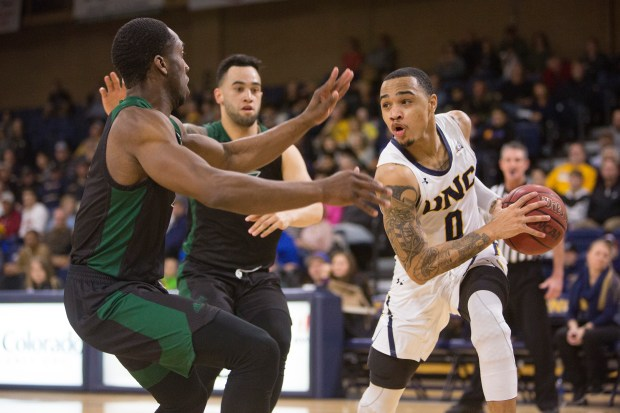 University of Northern Colorado's Jordan Davis ...