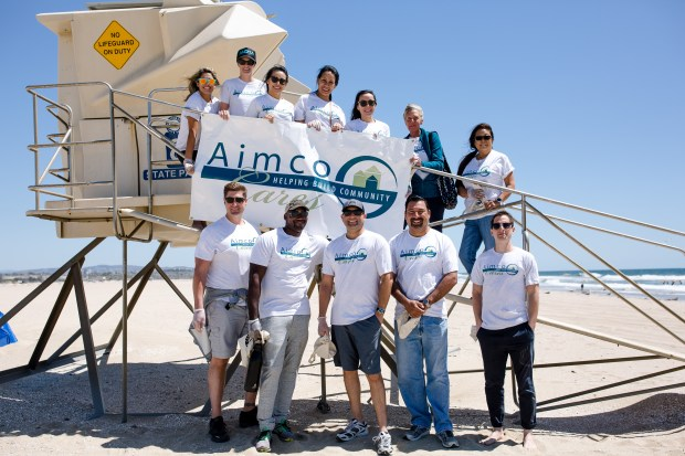 Employees of Amico are pictured together.