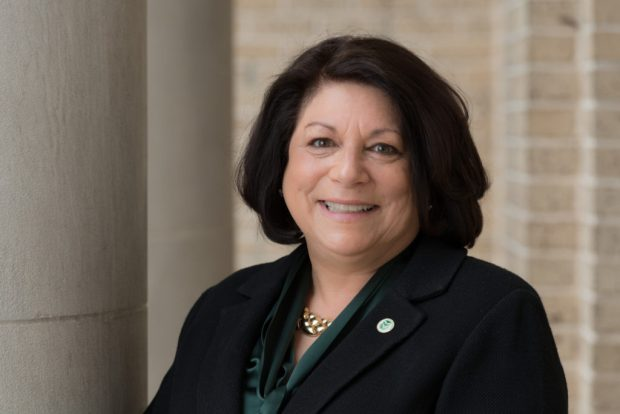 Joyce McConnell will become Colorado State University's 15th president on July 1, 2019. She is currently the provost and vice president for academic affairs at West Virginia University.