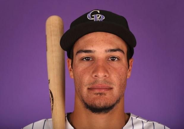 Nolan Arenado #28 of the Colorado ...