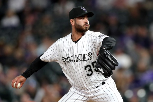 Pitcher Chad Bettis #35 of the ...