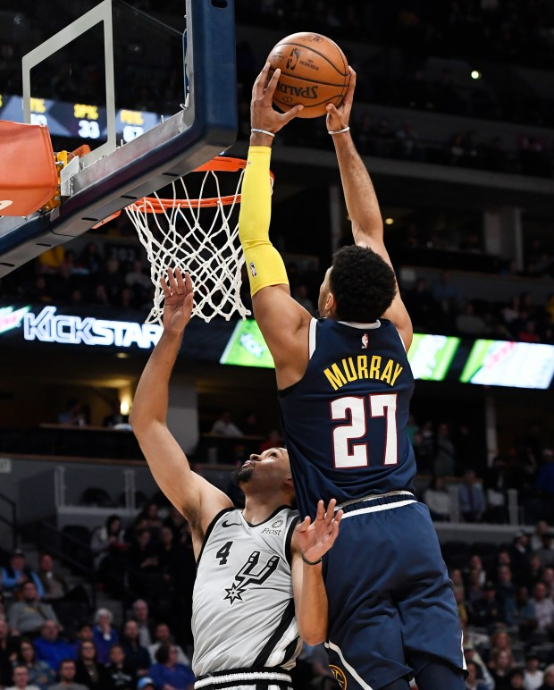 Denver Nuggets Murray: NBA Playoffs: Breaking Down Nuggets-Spurs Matchups
