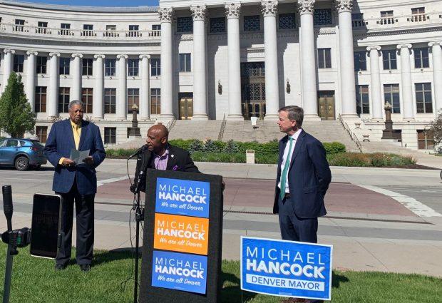 Mayor Michael Hancock endorsement event