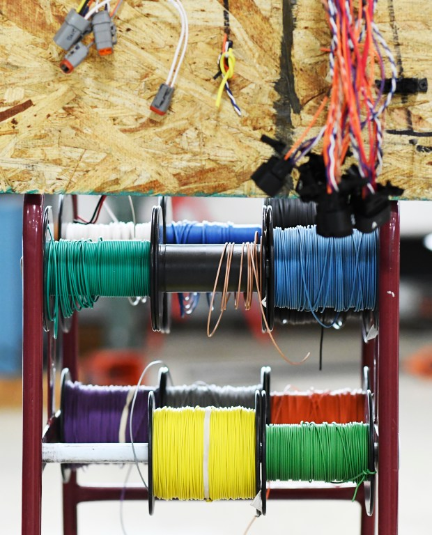 Wires are use at Lightning Systems ...