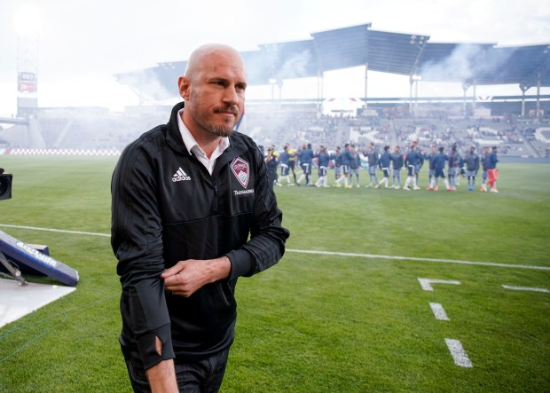 The Colorado Rapids' new coach, Conor ...