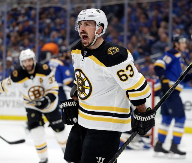 Boston Bruins Force Stanley Cup Game  With Win Over St Louis