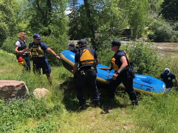 Man who died in Eagle River rafting accident ID'd by coroner