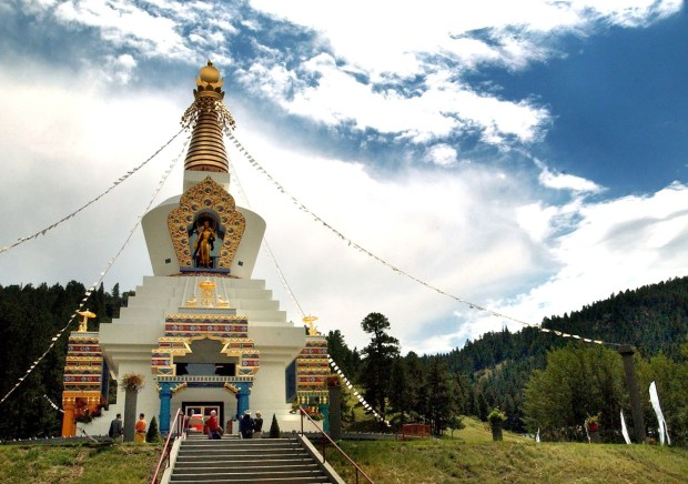 The Great Stupa of Dharmakaya is ...