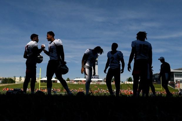 Denver Broncos training camp on Thursday, July 18, 2019.