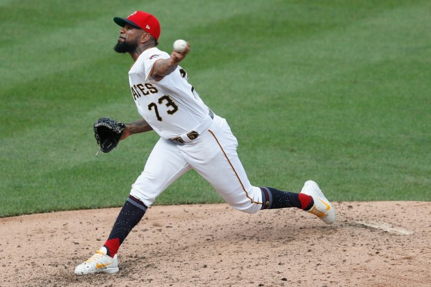 Pittsburgh Pirates relief pitcher Felipe Vazquez ...
