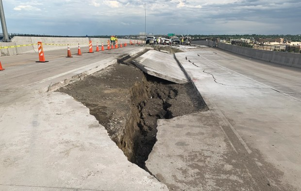 Here's why CDOT says U.S. 36's westbound lanes won't also collapse