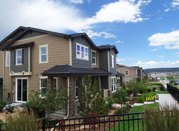 KB Home's Villa Collection of paired homes at The Meadows in Castle Rock.