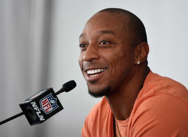 Denver Broncos CB Chris Harris Jr. ...