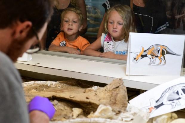 DENVER, CO - July 16: Children ...