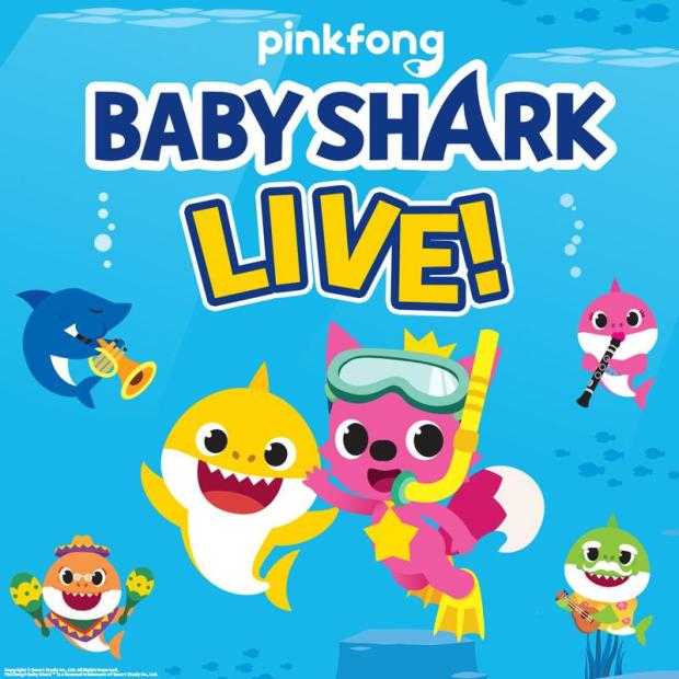 """We've hit peak """"Baby Shark"""" with this ridiculous tour, and can only go down from here"""