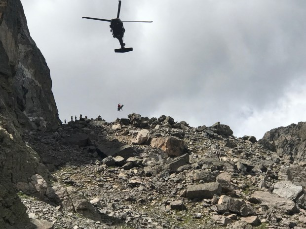 Climber falls 20 feet in Rocky Mountain National Park, suffers serious injuries