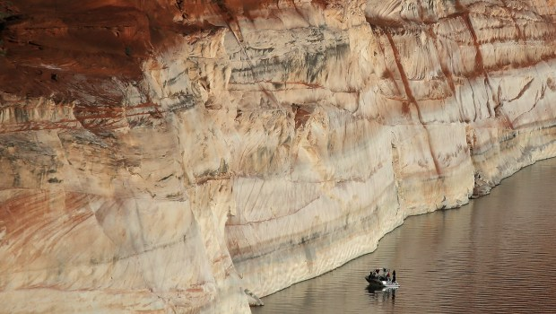 """West wrestles with Colorado River """"grand bargain"""" as changing climate depletes water governed by 1922 compact"""