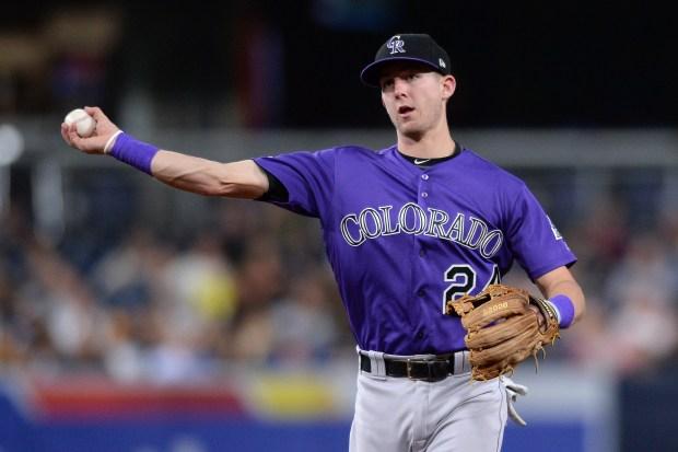 Colorado Rockies second baseman Ryan McMahon ...