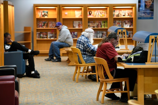 Shift to e-books puts crunch on Denver Public Library
