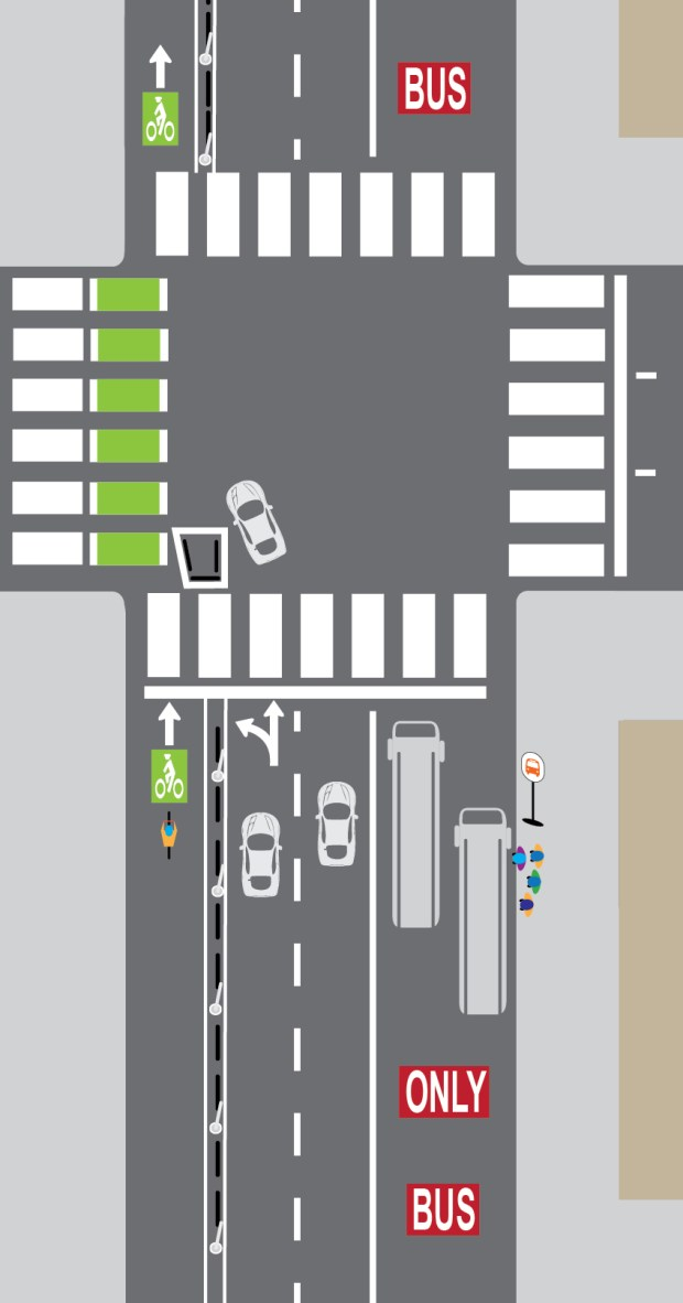 Denver will turn car lanes into bus lanes on two more major downtown streets