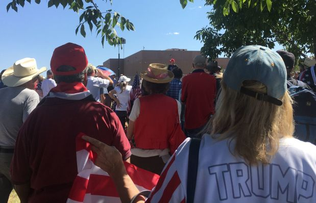 Hundreds gather at Aurora ICE facility to protest and rally