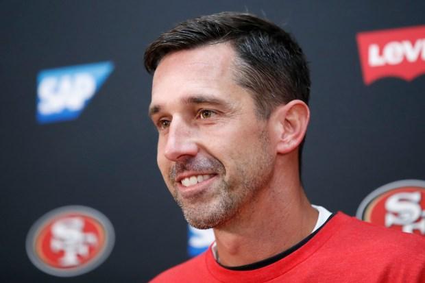 San Francisco 49ers head coach Kyle ...