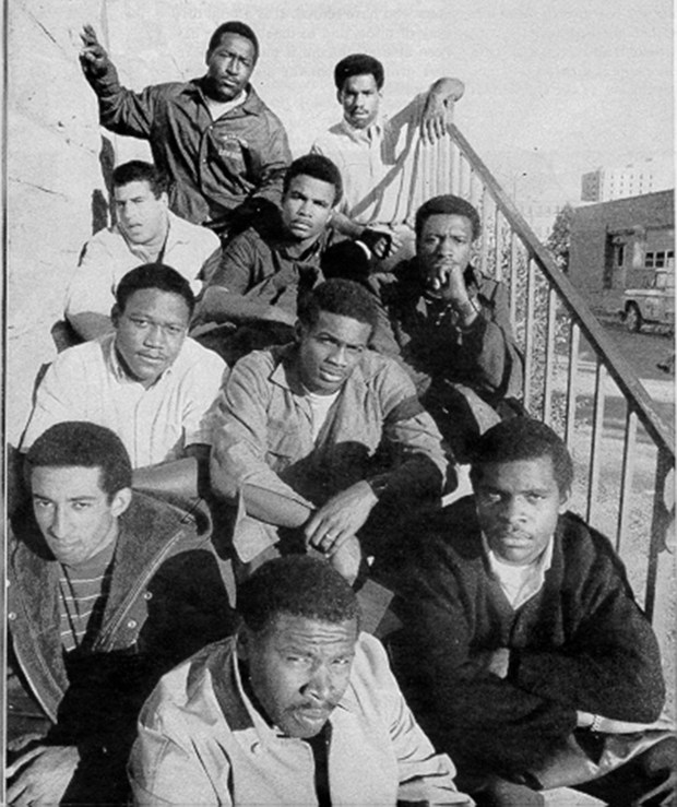 University of Wyoming Black 14 members ...