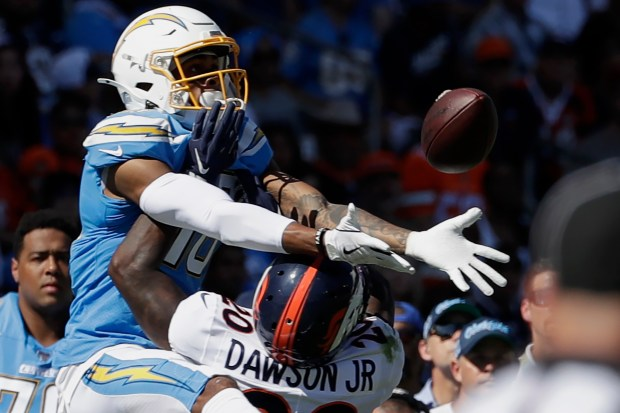 Los Angeles Chargers wide receiver Andre ...