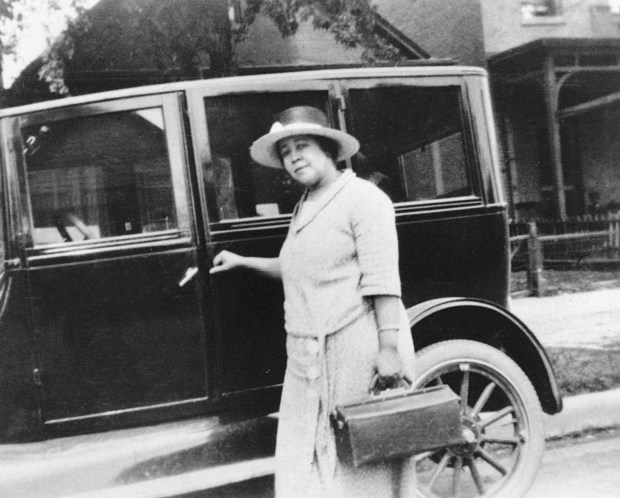 Dr. Justina Ford, circa 1920s. The ...
