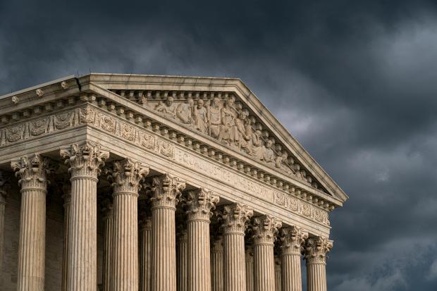 The Supreme Court in Washington. ...