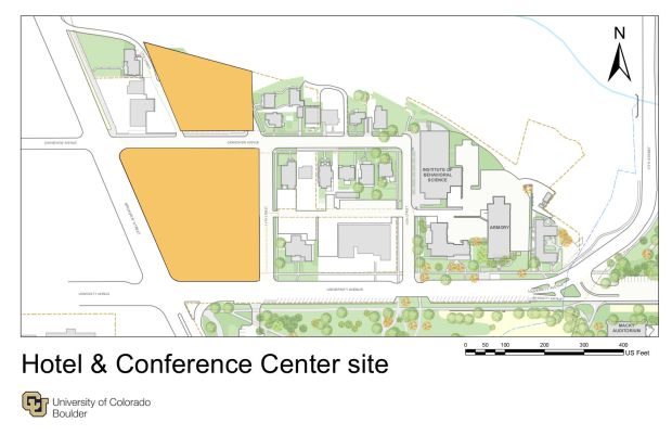 CU Boulder chooses developer for estimated $130 million on-campus hotel, conference center