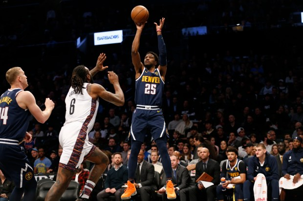 Denver Nuggets guard Malik Beasley (25) ...