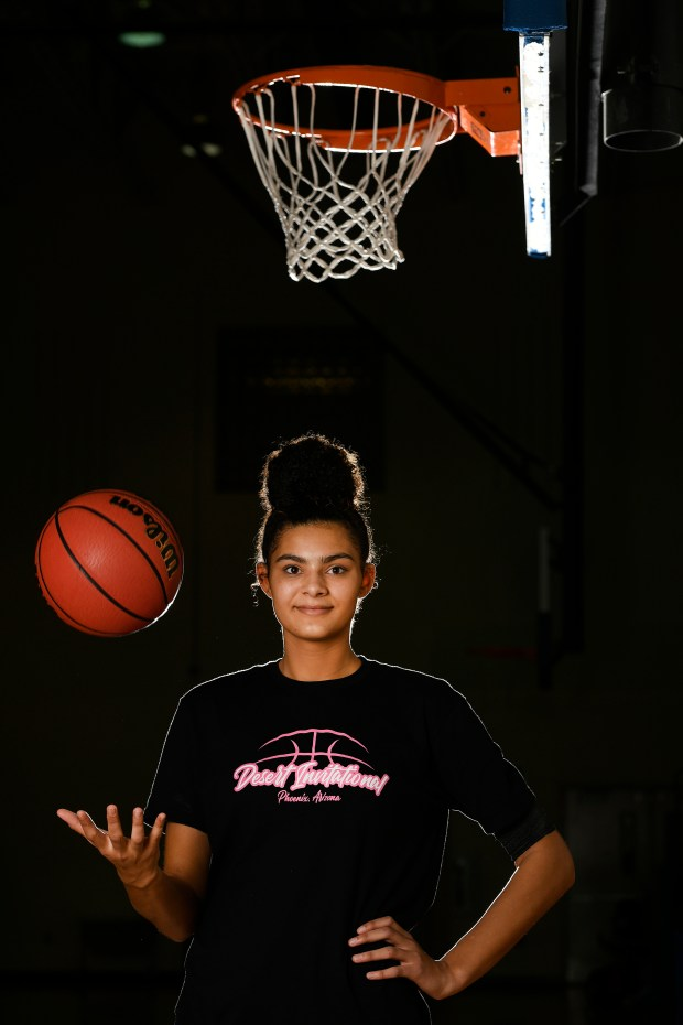 Grandview girls basketball center Lauren Betts ...