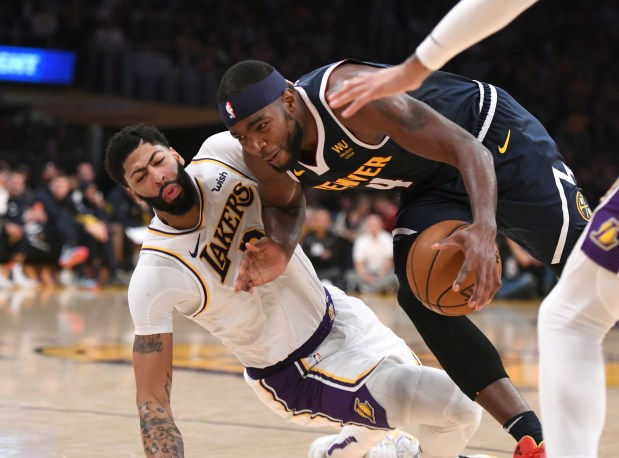 Los Angeles Lakers forward Anthony Davis, ...