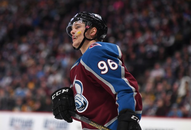 Colorado Avalanche right wing Mikko Rantanen ...
