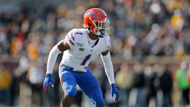 Florida defensive back CJ Henderson takes ...