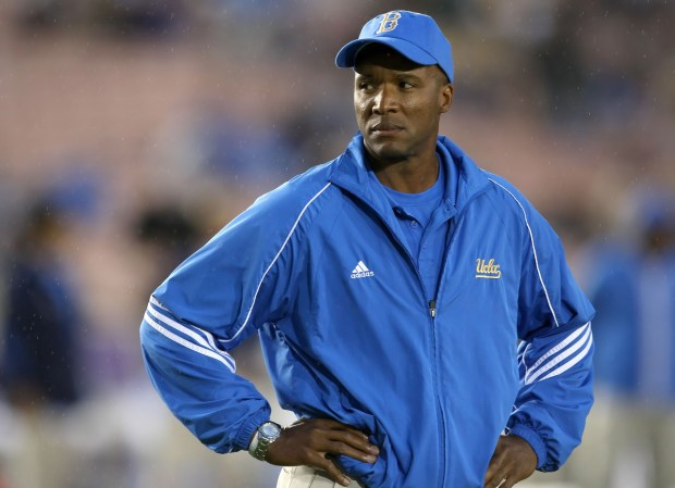 Head coach Karl Dorrell of the ...