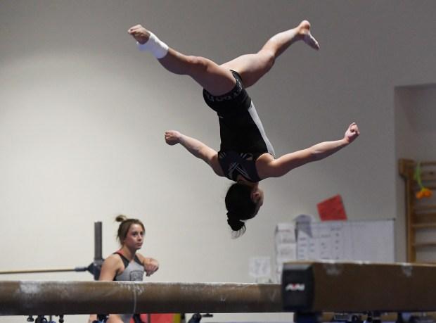 Denver University gymnast Alexis Vasquez on ...