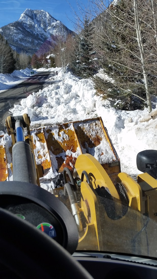 Town of Frisco working to move mountains of snow after being hit with 80 inches in 30 days
